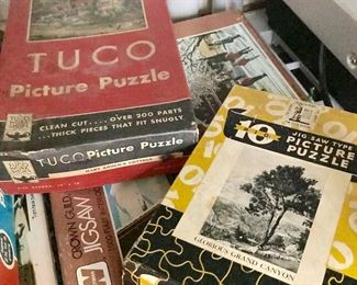Antique jigsaw puzzles