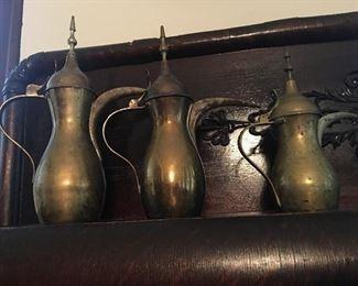 Unique brass pieces