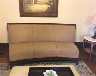 Lovely armless sofa.