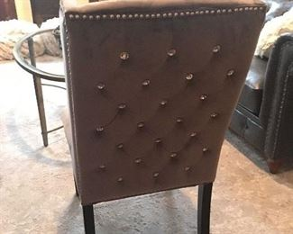 Restoration Hardware tufted chair