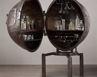 This is a fantastic 1920's German Light Bulb Tester Bar! This Light Tester Bar was salvaged for a German Factory. Why keep your liquor in a BORING bar when you can have this and be the envy of all of your friends!!!