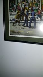 Print by Melvin King Signed
