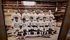 1929 Union Pacific baseball photo