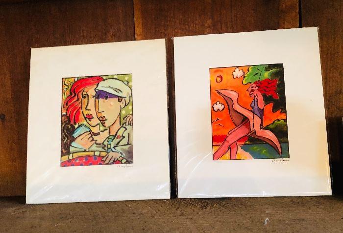 Tony Cocalano digital prints