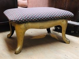 Antique cast iron stove base footstool.  There is another base similar to this one.