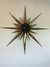 MCM starburst clock
