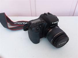 Digital canon camera