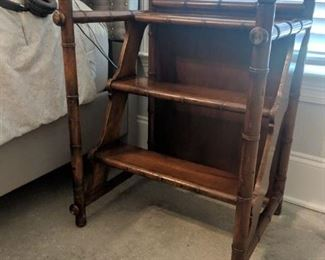 Library ladder made in Italy