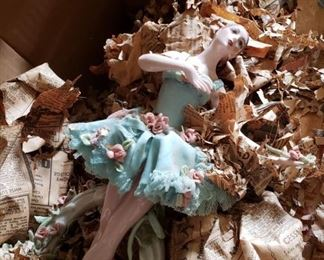 figurines from the attic