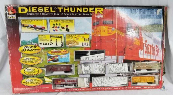 Diesel Thunder Train Set