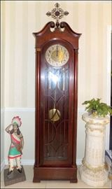 Antique Tall Case Clock in Fine Working Order