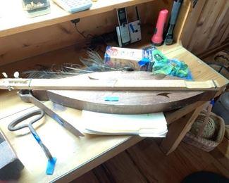 #52Dulcimer handmade in good condition $75.00