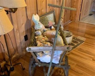 #7handmade wagon  $150.00