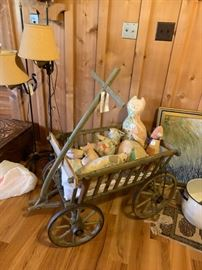 #7	Antique  wagon used in Huck Fin movie in Mooresville	 $150.00