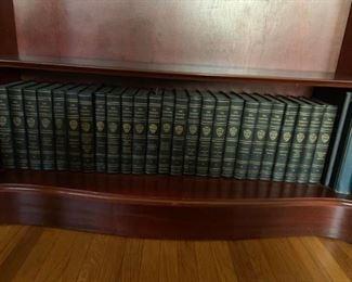 #7 Harvard Classics Volume 1-50 (missing volume 24 & 30) $250.00