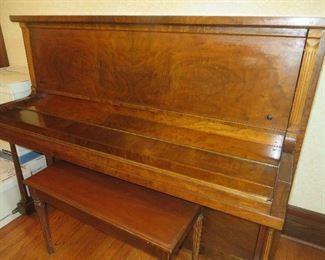 P.A.  STARCK UPRIGHT PIANO