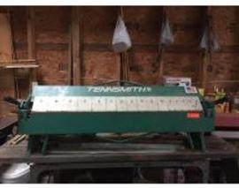 "TENNSMITH 48"" Sheet Metal Brake Model 048 - Capacity 22 Gauge Steel"
