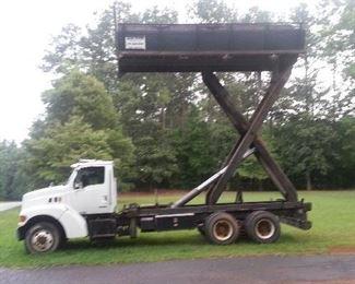1999 Sterling Diesel Dump Truck  w/ Hydraulic 21 Ft. Scissor Lift Bed