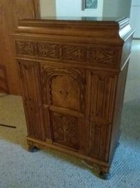 Antique Empty Radio Cabinet