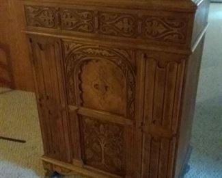 Antique Empty Radio Cabinet