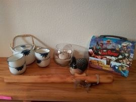 Assorted Decorator Items