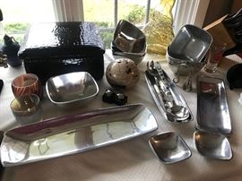 Pottery Barn entertaining dishes