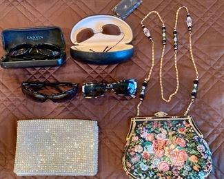 45. Lanvin, Maui Jim, YSL & Seraphin Sunglasses 51. Walarg ...