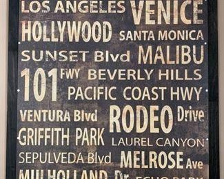 "78. California Artwork (36"" x 38"")"