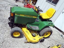 "John Deere 445 Lawn Tractor With All-Wheel Steering, 60"" Mowing Deck, ID #MOD445DO71063"