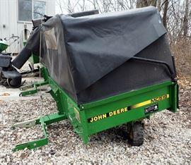 John Deere Collection/Bagger Cart Model #MC519, ID #MOD519X66053