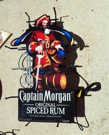 "Captain Morgan Lighted Neon Wall Sign, 30"" x 19"""