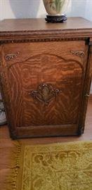 Antique, oak cabinet