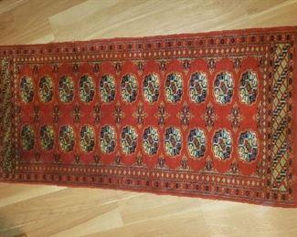 Quality, small, oriental rug.
