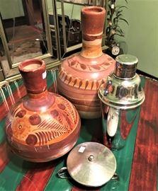 pottery shaker