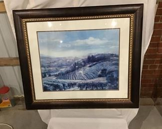 one of several pictures with frames