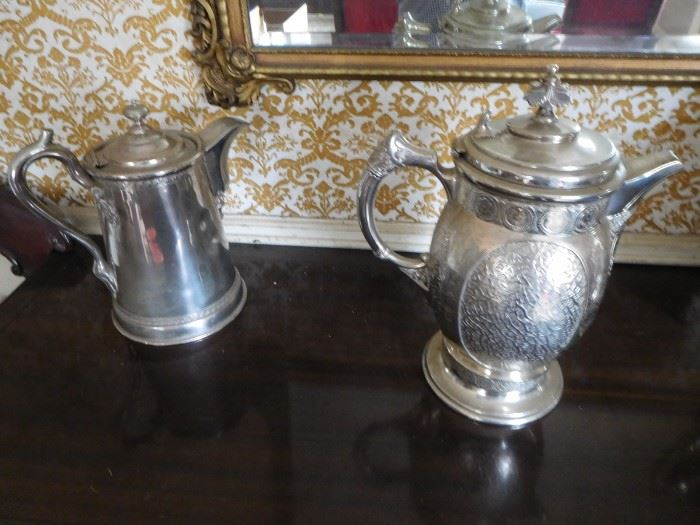 more  silverplate  water  servers