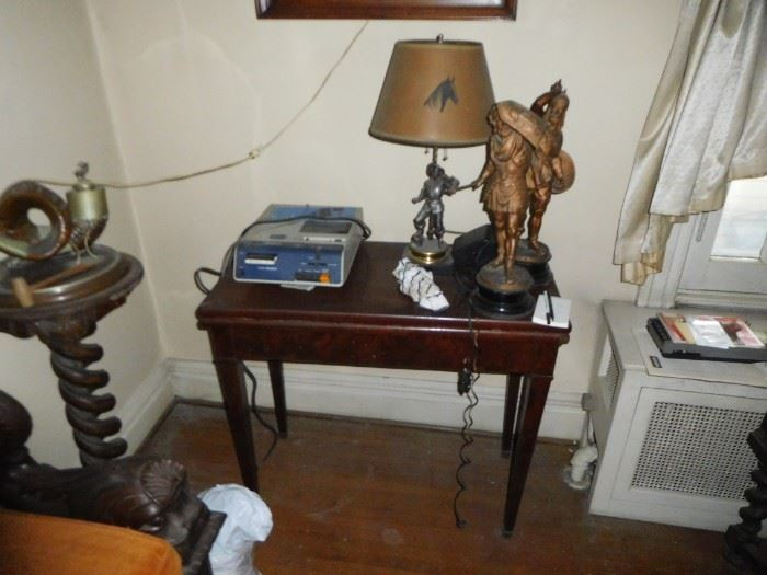pedestal  and  game  table  only