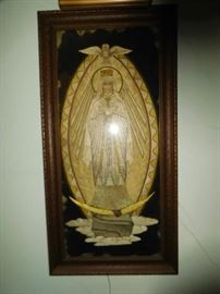 very  nice  piece  of  art  -lady  of  guadalupe