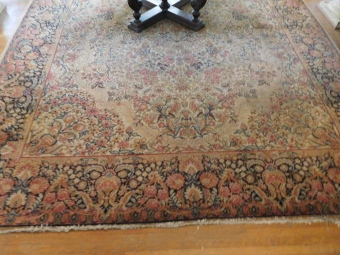large  wool  entry  rug