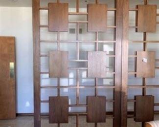 Closeup of panel pattern