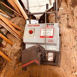 Craftsman Electric Start Snow blower 3/20