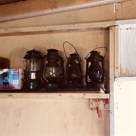 Vintage Antique Kerosene Lantern