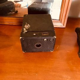 antique film box