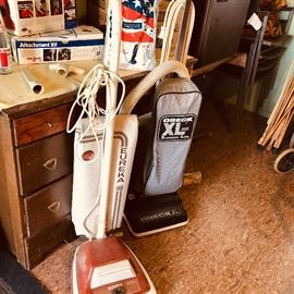 Oreck & Eueka vacuum