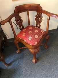 Corner chair.