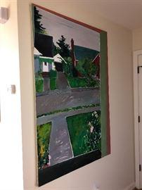original oil painting asking $240