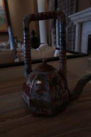 Stone tea pot