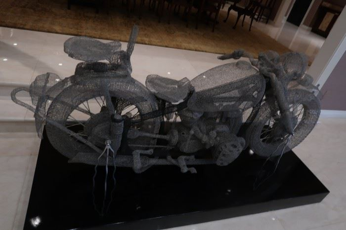 Jin Dian Shi  replica of a 1940s BMW motorcycle