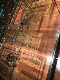 Lalique  Bucolique door knobs (8)