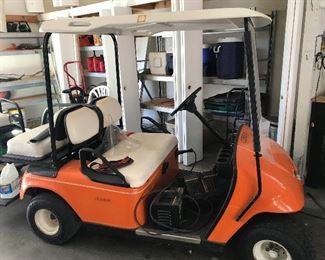 Golf cart (needs some battery work)